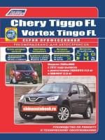 Руководство по ремонту Chery Tiggo / Vortex Tingo - модели с 2012 года выпуска, оборудованные бензиновыми двигателями
