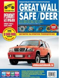 Руководство по ремонту в цветных фотографиях Great Wall Safe / Deer  - модели с 2002 по 2009 год выпуска, оборудованные бензиновыми двигателями