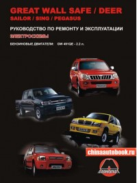 Руководство по ремонту Great Wall Safe / Deer / Sailor / Sing / Pegasus - модели, оборудованные бензиновыми двигателями