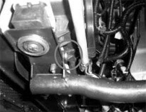 Хомут крепления патрубка системы охлаждения Chery QQ6