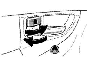 Кнопка для закрытия двери BYD F3