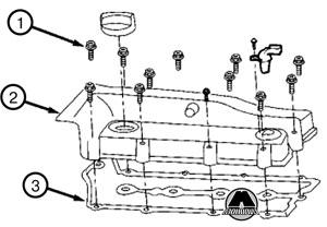 Прокладка клапанной крышки Chery M11