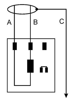 Схема датчика ZAZ Forza