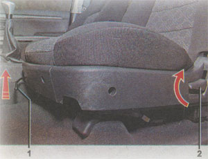 Спинка сидения Great Wall Hover H3