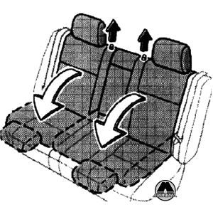 Задние сиденья BYD F3