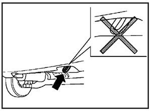 Задний буксирный крюк Haima M3 c 2014 года